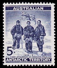 AAT Australian Antarctic Antarctica 1961 1st.Attainment of the South Magnetic Pole Stamps Covers