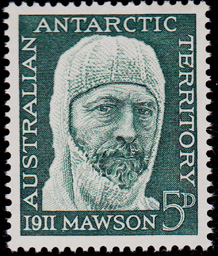 AAT Australian Antarctic Antarctica  1961 50th.Anniversary of 1911 Mawson Expedition Stamps Covers