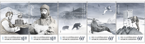 AAT Australian Antarctic   2013   1911-1914 AAE  CENTENARY  1913 DISASTER & ISOLATION Stamps Covers