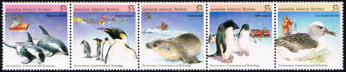 AAT Australian Antarctic Antarctica 1988 Environment, Conservation and Technology Stamps Covers